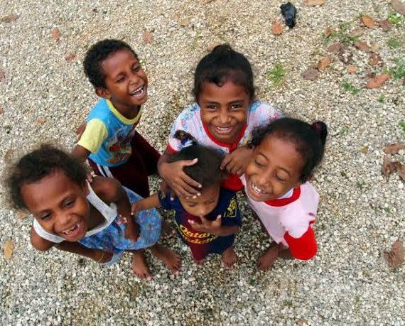 Bantuan Belajar Untuk Anak Di Biak Selama Pandemi