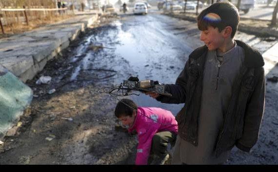 15 Anak Tewas Saat Ledakan Di Afghanistan