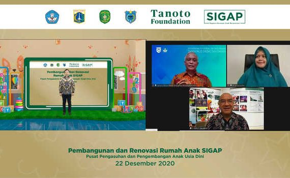 Tanoto Foundation Dirikan Rumah SIGAP Indonesia