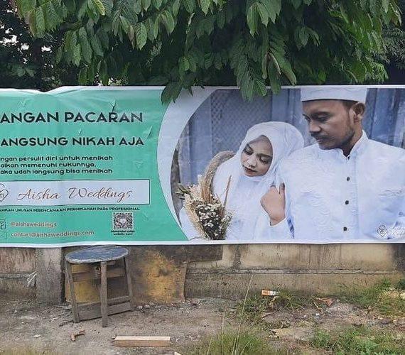 Aisha Wedding Bikin Resah Warga Indonesia
