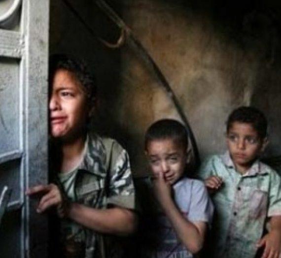 Anak-Anak Ketakutan di Jalur Gaza